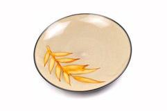 Designer kitchen plate Stock Photo