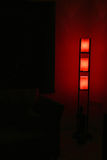 designer lamp shade and ambient inetriors Stock Images