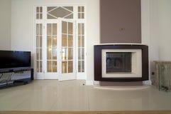 Designer living room Stock Images