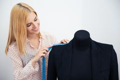 Designer measuring jacket Stock Photo