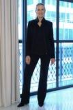 Designer Michelle Roth wird an der Sammlungsdarstellung Michelle Roth Bridal Sprngs 2016 gesehen Stockfoto