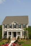 Designer Model Home. In a New Housing Development stock image