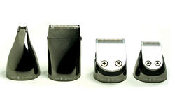 Designer nose/ear/beard/hair clipper heads Stock Photography
