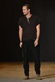 Designer Robert Geller walks the runway after Robert Geller Show Royalty Free Stock Photos