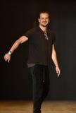 Designer Robert Geller walks the runway after Robert Geller Show Stock Images