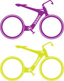 Designer's bicycle Royalty Free Stock Images