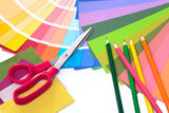 Designer's desk Royalty Free Stock Photos