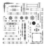 Designer's toolkit set. Royalty Free Stock Photo