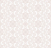 Designer seamless floral wallpaper Royalty Free Stock Photography