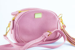 Designer shoulder bag Stock Images