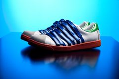 Designer sneakers Stock Images