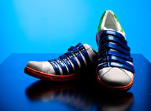 Designer sneakers Royalty Free Stock Images