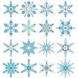 Designer snowflakes Stock Image