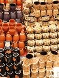 Designer Tea Cups royalty free stock image