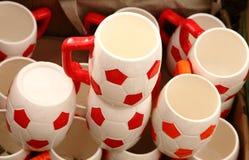 Designer Tea Cups stock photos
