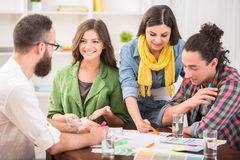 Designer team Stock Image