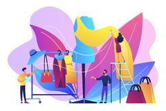 Fashion industry concept vector illustration. vector illustration