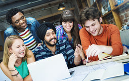 Designer Teamwork Brainstorming Planning Interior Concept Royalty Free Stock Image