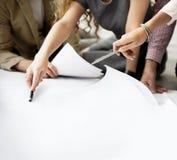 Designer Thinking Ideas Creative Layout Concept Royalty Free Stock Photos
