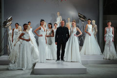 Designer Tony Ward is seen at A Toast To Tony Ward: A Special Bridal Collection Stock Photos