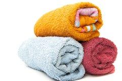 Designer towels Stock Photography
