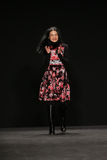 Designer Vivienne Tam walks the runway at the Vivienne Tam fashion show during MBFW Fall 2015 Stock Photos