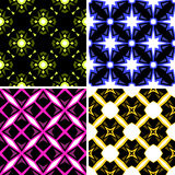 Designer wallpaper with stars Stock Image