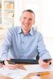 Designer at work Royalty Free Stock Image