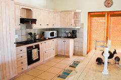 Designers country living kitchen Stock Photography