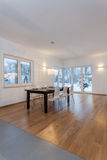 Designers interior - Dining room Royalty Free Stock Photo
