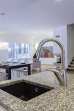 Designers interior - Faucet. Designers interior - Closeup of tap and faucet stock photo