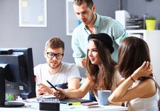 Designers in office Royalty Free Stock Images