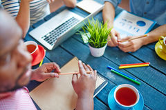 Designers at work Royalty Free Stock Photography