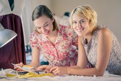 Designers at work Royalty Free Stock Photo