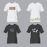 Designery tees Royalty Free Stock Image