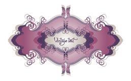 designetikett Royaltyfri Bild