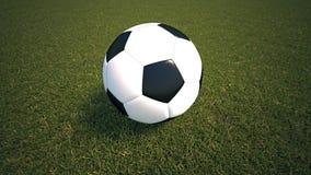 designfältfotboll dig Arkivbilder
