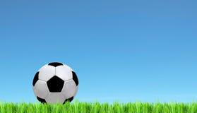 designfältfotboll dig Arkivfoton