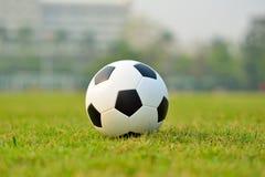 designfältfotboll dig Royaltyfria Bilder