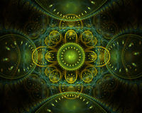 designfractal Royaltyfria Bilder