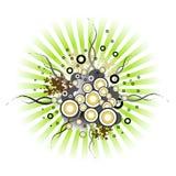 designgrunge Royaltyfri Foto
