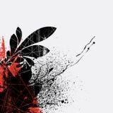 designgrungefärgstänk Royaltyfria Bilder