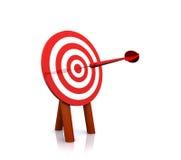 Designi il bullseye come bersaglio Immagine Stock Libera da Diritti