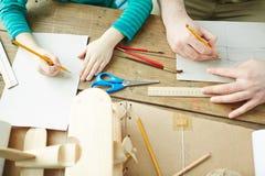 Designing carton toy Stock Images