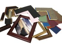 Designing frame project Royalty Free Stock Photos