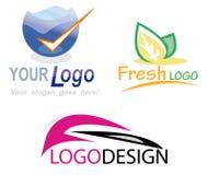 designlogo vektor illustrationer