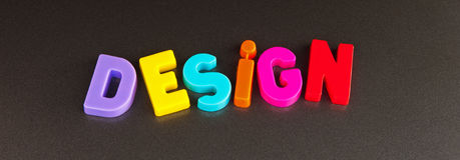 Designlogo Stockfoto