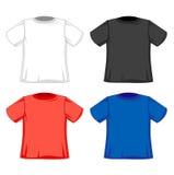 Designmodelle von T-Shirts vektor abbildung
