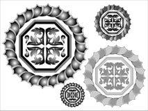 designmodellvektor Royaltyfria Bilder