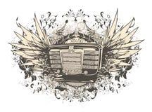 designmusikskjorta t Royaltyfri Foto